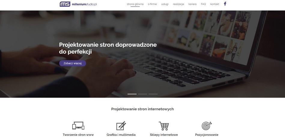 8808011de7228 Tworzenie stron internetowych. Strony www Kraków